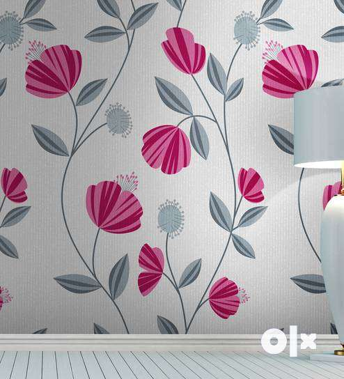 Floral Wallpapers for your bedrooms at just Rs. 30/sqft 0