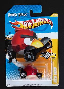 Hotwheels Angry Bird