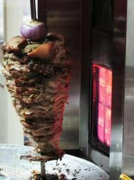 Shawarma chef