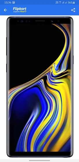 Samsung note 9 6gb 128gb