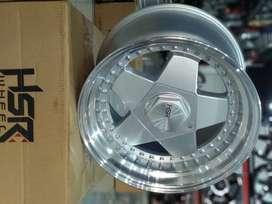 VELG RACING HSR AACHEN R16X8/9 PCD 8X100-114 SML
