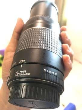 Canon 75-300 mm