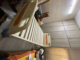 Negotiable Hospital cot (steel) for aged patients at home