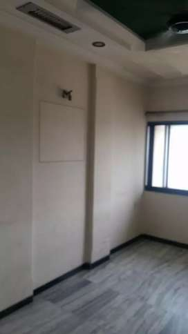 1bhk semi furnished flat for rent deposit. 1 lac