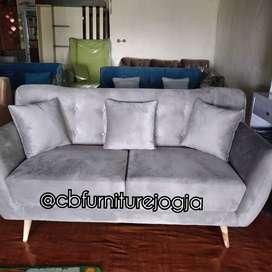 Sofa 3 dudukan scandinavian
