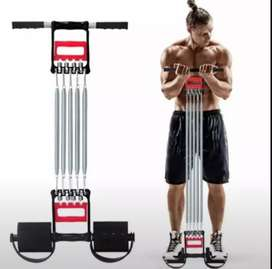 Male spring chest developer machine chest expander grip/arm strength