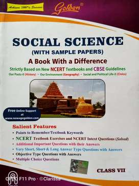 Social science Class 7 CBSE guide