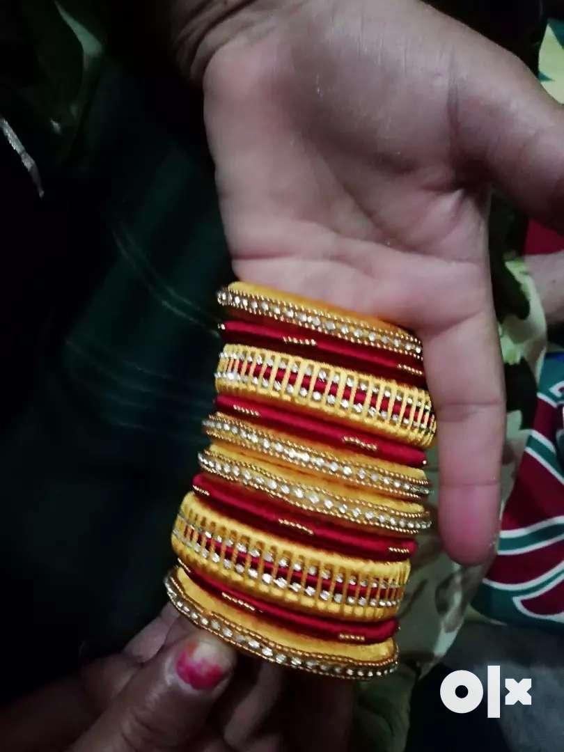Silk thread jewellery 0