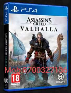 PS4 & PS5 Games Valhalla Available at disc price