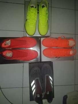 Dijual sepatu futsal bundle 4 pasang