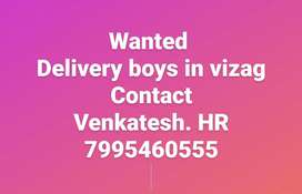 Wanted delivery boys in visakhapatnam