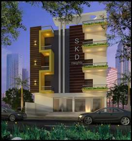 2bhk & 3bhk fully furnished flats for sale at 1st link road lane no 7.