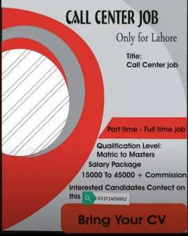 Hiring for Call centre.