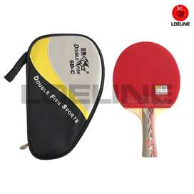 Bad Bat Bet Ping Pong Pingpong Tenis Meja Double Fish 5D-C Original ID