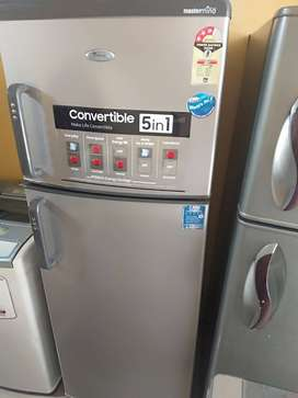 Double fridge Whirlpool 280 liter 9500 RS, in working condition