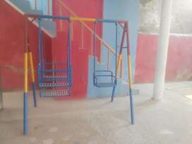 One swing (jhooola) for sale and one set of table tennis . .
