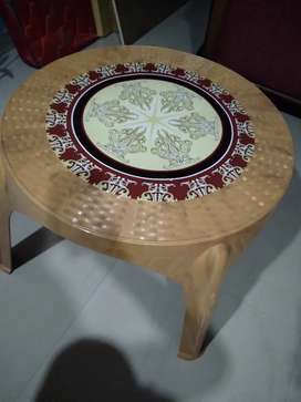 Plastic fiber good quality Tea Table
