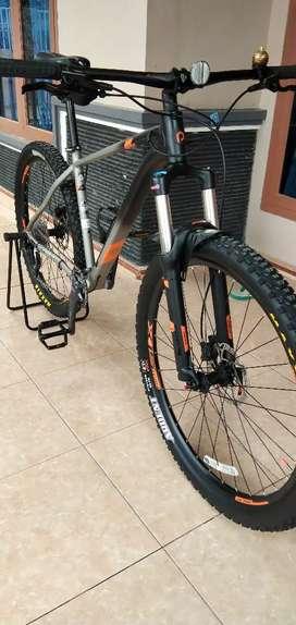 Jual sepeda simpanan extrada 6 Limited Edition,  ban maxis, mulus