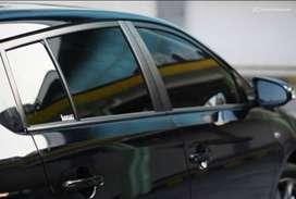 kaca film mobil dan salon mobil nya bro