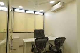 Lavishly Furnished Office 775ft on rent at CG Road.