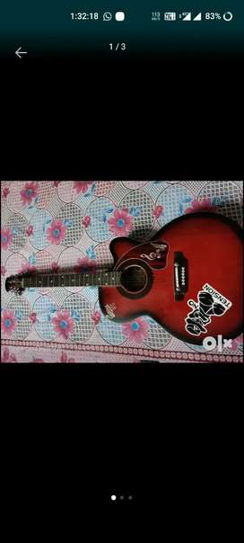 Guiter with tuner