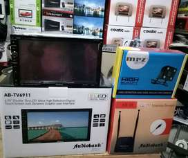 Plus Pasang,Head Unit Audiobank,komplit,bsa Logo Mobil+Camera+Antena