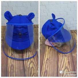 Topi face shield bayi