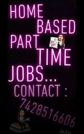 Wanted genuine, part time home based jobs...