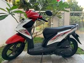 Honda beat 2016 merah putih plat N kabupaten