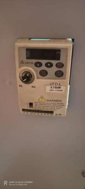 Delta VFD004L21A   Delta VFD - Delta AC Drive 0.50 HP, Input 1ph