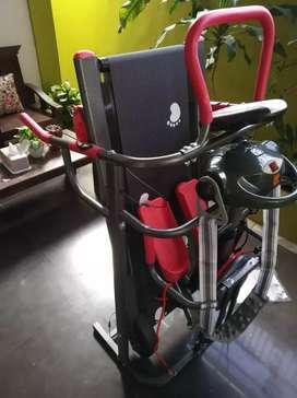 The best new Treadmill manual 6 Fungsi CF-004: