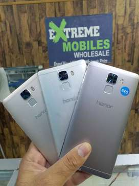 honor 7 64GB STORAGE .BRAND NEW CONDITION.PTA  Approved