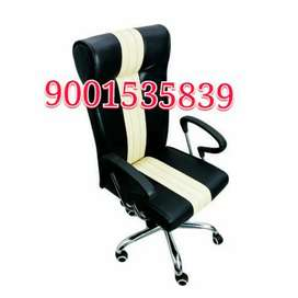 New high back office chair with push back function