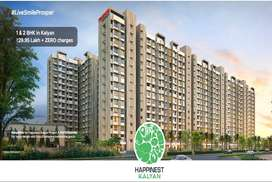 2 BHK Flats in Kalyan, Near Metro Station - Mahindra Happinest Kalyan