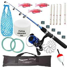 Fishing Spinning Rod,Reel,Accessories Complete Combo