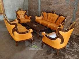 Set kursi tamu Romawi