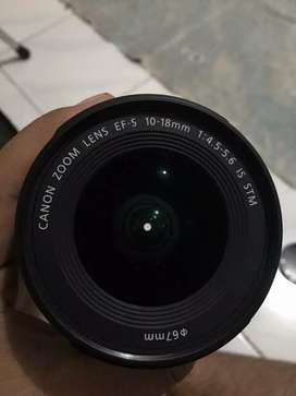 Canon ef-s 10-18mm is stm normal