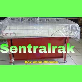 Box obral chrome murah merah