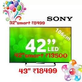 """SONY32""""box newSMARTT ANDROIID ₹8900,&₹13500 FOR 42inch"""