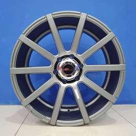 Velg Mobil HSR Wheel Ring 20 HIROSHI H6X139,7 Grey Machine Face