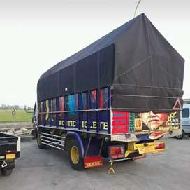 Jasa angkutan barang truk Area pulau Jawa