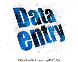 PART TIME DATA ENTRY WORK AT HOME