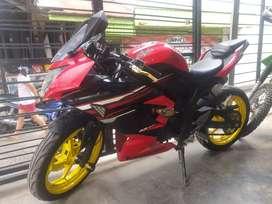 Kawasaki Ninja 250cc Mono SL 2015 bisa di kredit di Rafael motor