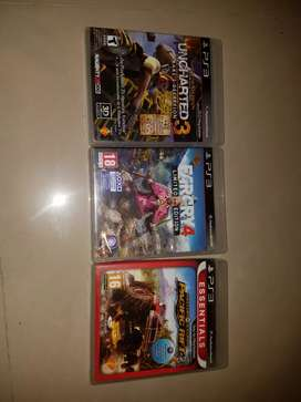 Ps3 games cd pack of 4