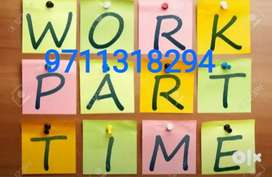 I am offering part time job at home based