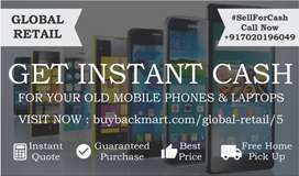 Sell Old Used Mobile Phones Laptops For Instant Hard Cash Best Price