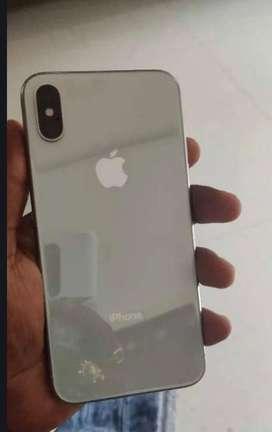 Iphone x 64gb white good condition
