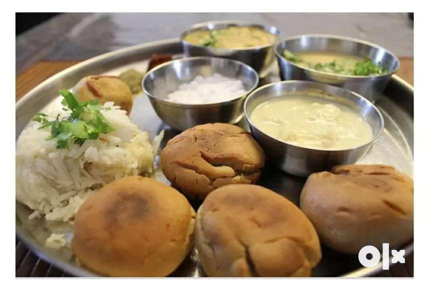 Rajasthani/ marwadi cook daal baati and sweet in Rajkot 0