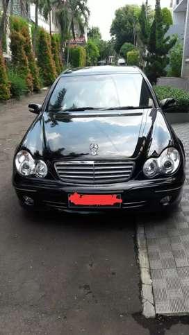 Dijual Merc Benz C240 th 2005 ,140jt