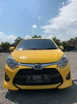 Agya 2018 type G kuning warna jarang